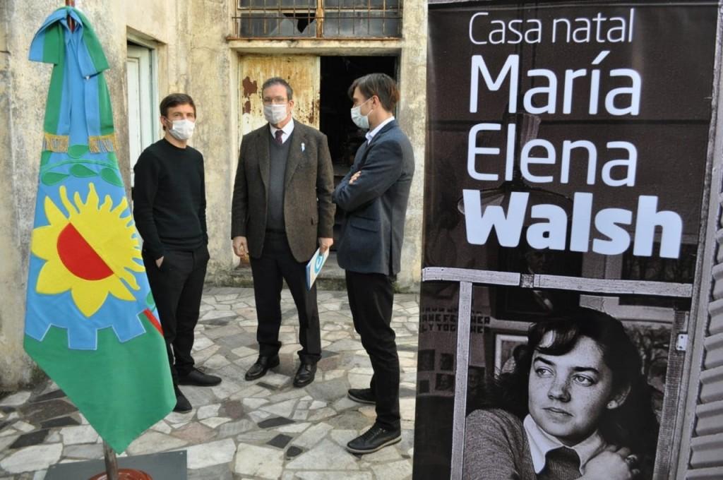 Morón recupera la casa de la infancia de María Elena Walsh como espacio dedicado a la cultura