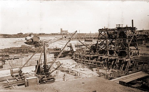 1898:  EL FERROCARRIL ESTRATÉGICO DE LA ARMADA EN PUNTA ALTA.