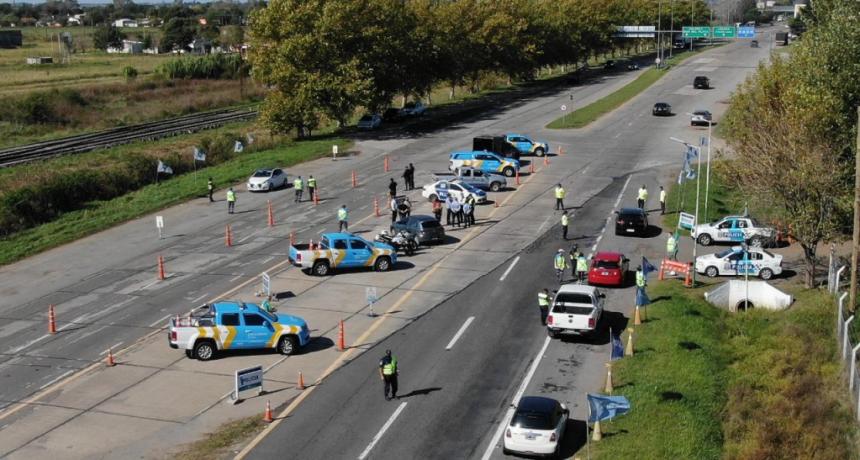 El Ministerio de Transporte realizó controles de alcoholemia en conjunto con la provincia de Buenos Aires para impulsar el alcohol cero al volante