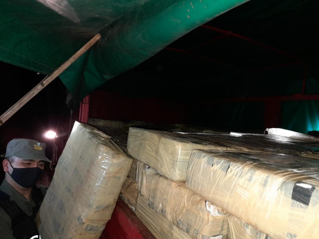 Neutralización al narcotráfico: la Gendarmería incautó más de 4 toneladas y media de marihuan