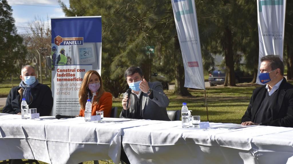Cámaras empresariales de La Plata se suman al Potenciar Trabajo