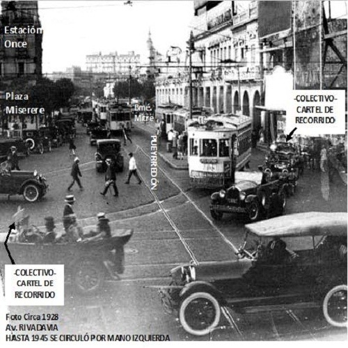 Década de 1920. Los ferrocarriles continúan su avance.