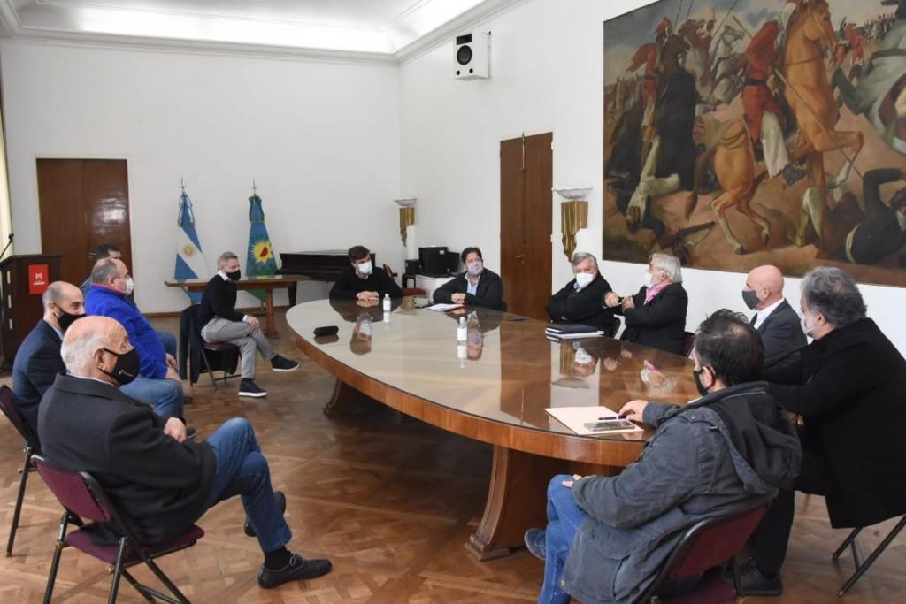 El Municipio de Morón reanuda la última etapa de la obra del Club Deportivo Morón