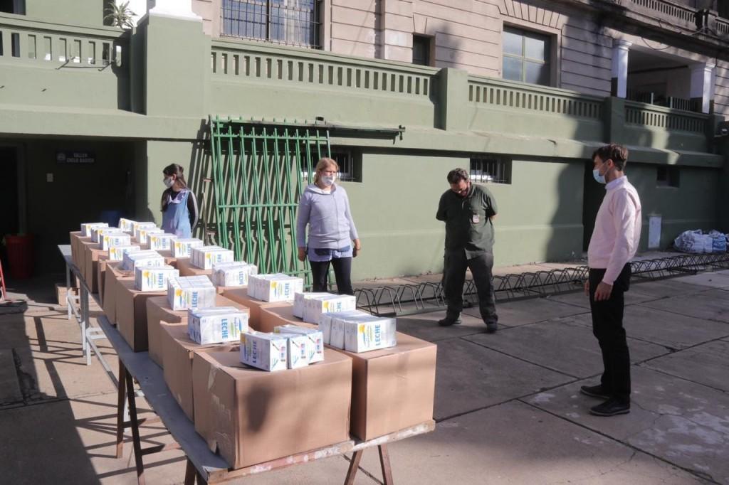 El Municipio de Morón amplía la entrega de alimentos en las escuelas de Morón