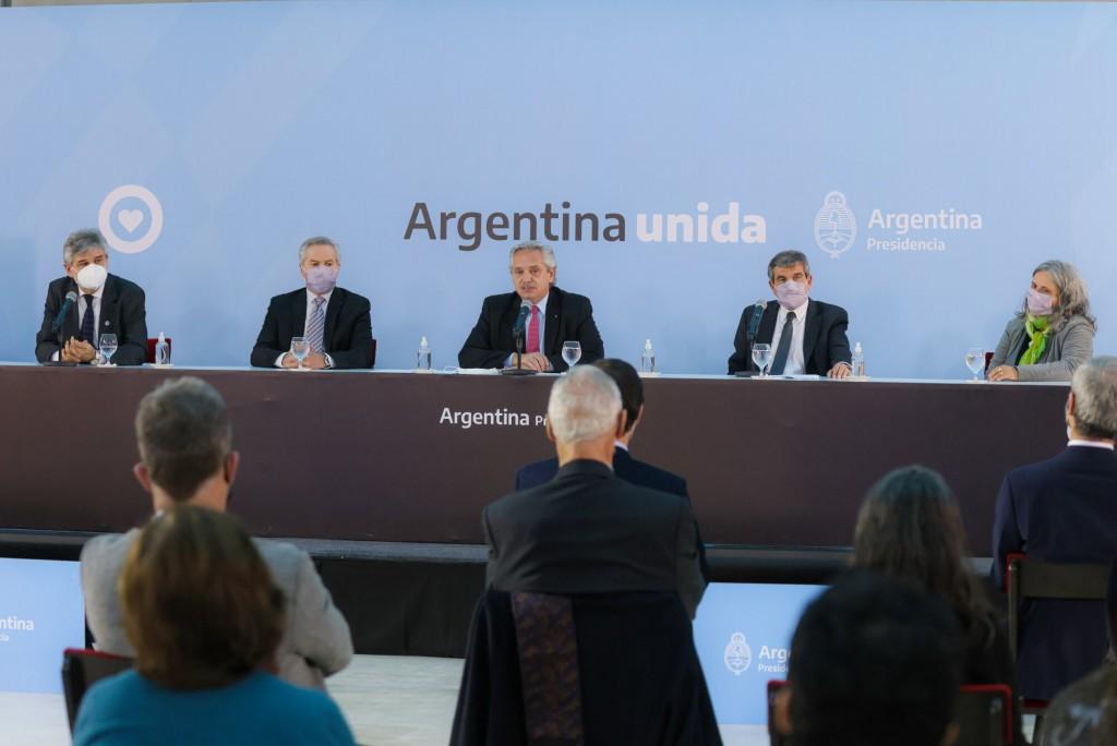 """Alberto Fernández: """"Estamos recuperando una vez más la memoria colectiva para preservar los derechos sobre Malvinas"""""""