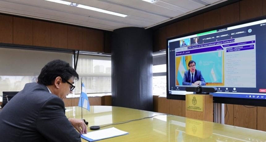 Claudio Moroni participó de la 109° Conferencia Internacional del Trabajo