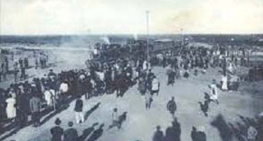 1908–1920: El ramal del BAP (Buenos Aires al Pacífico) entre Bahía Blanca y Carmen de Paragones.