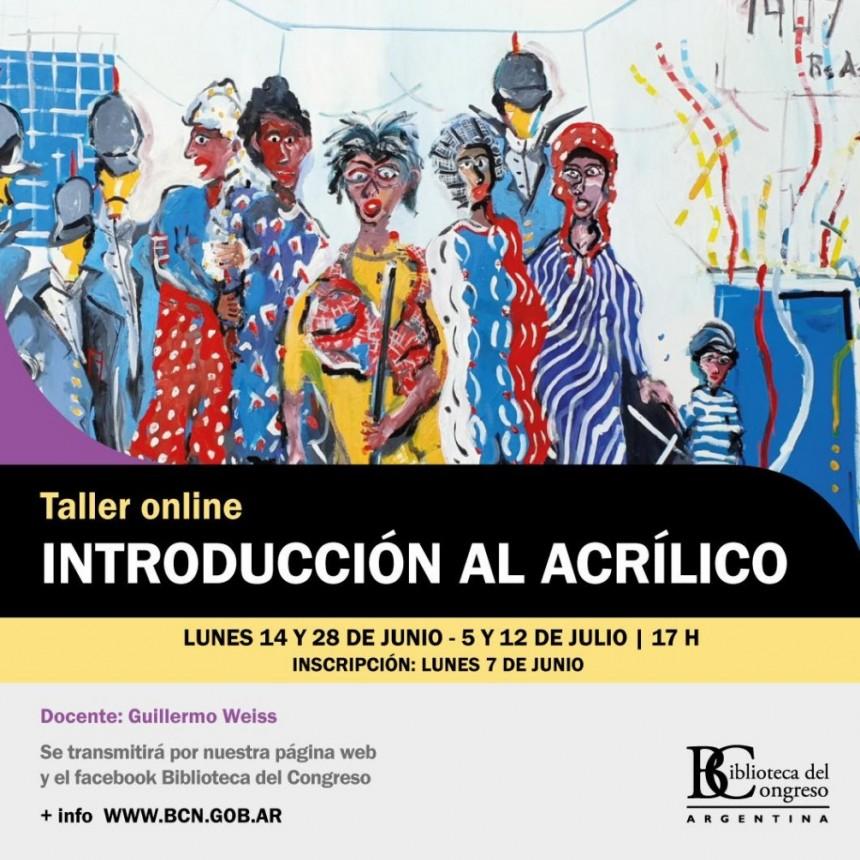 Talleres de pintura, títeres, historia del arte e inclusión educativa en la Biblioteca del Congreso de la Nación