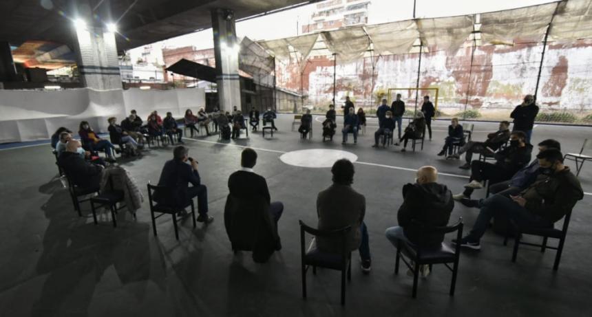 Matías Lammens se reunió con representantes de FICBA