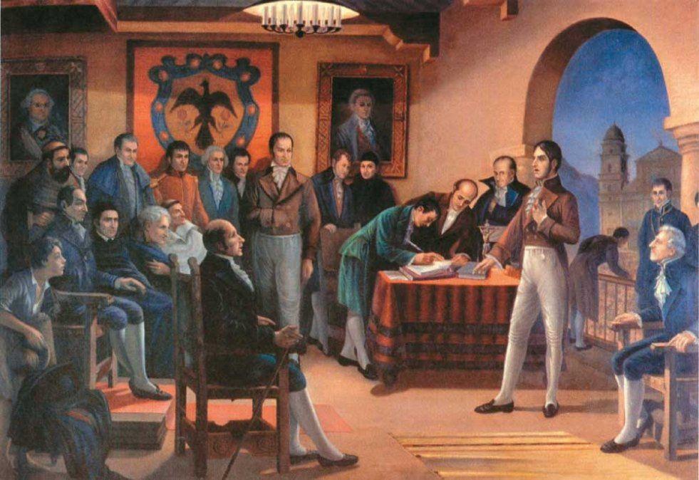 Efeméride nacional del día 9 de Julio:  Declaración de la Independencia