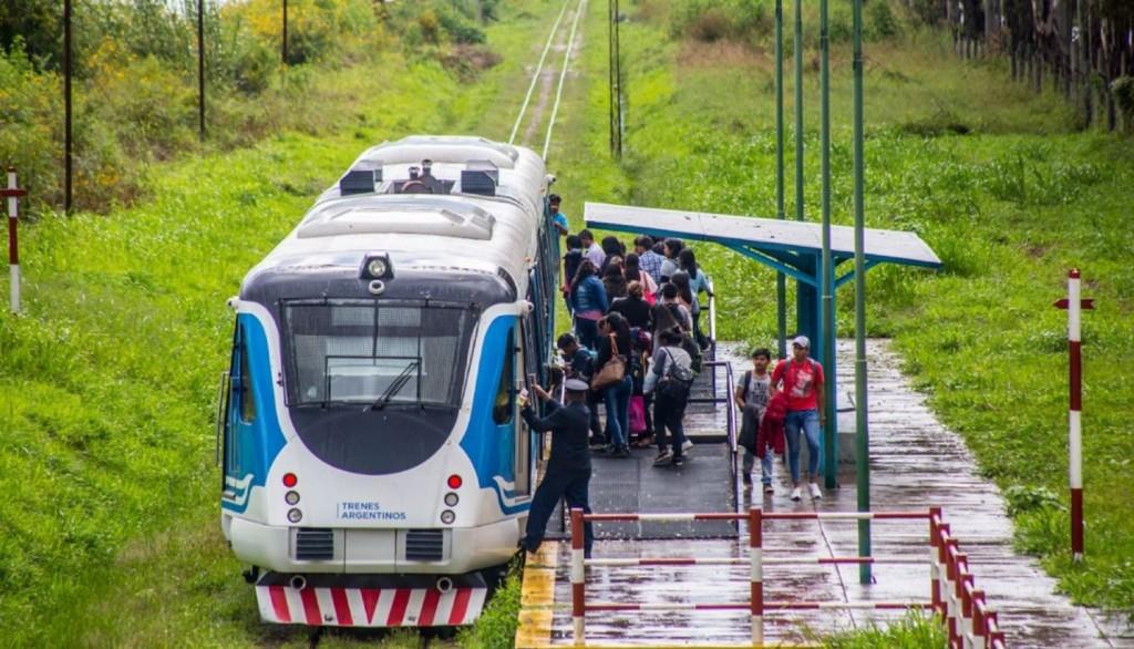Después de 51 años el tren Salta-Güemes volvió a Campo Quijano