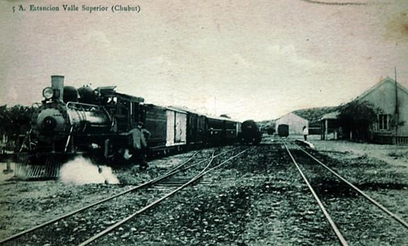 1920- FERROCARRIL CENTRAL DEL CHUBUT: