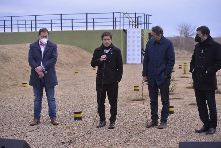 Axel Kicillof y Gabriel Katopodis inauguraron obras cloacales y anunciaron inversiones en infraestructura por más de $1.800 millones