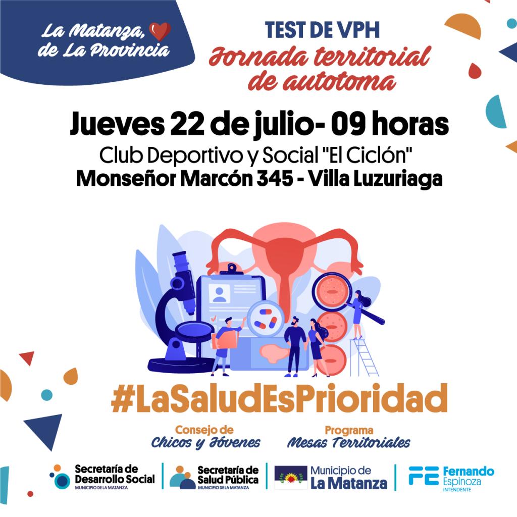 Jornadas Territoriales de Autotoma Test de VPH