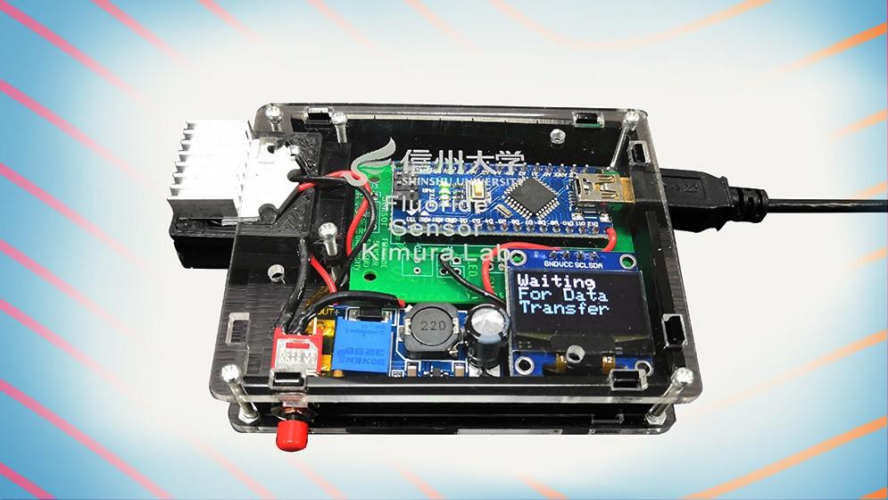 Investigadores del CONICET desarrollaron un sensor portátil que mide la concentración de fluoruro en cuerpos de agua