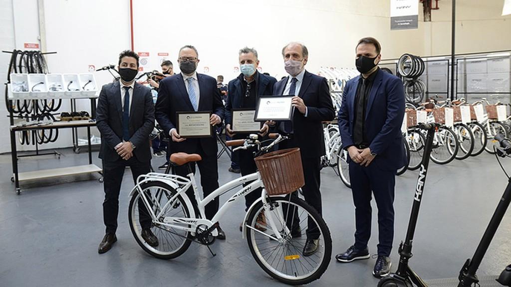 Matías Kulfas lanzó el Programa de Promoción de Bicicletas Eléctricas, con el objetivo de producir 50 mil unidades por año