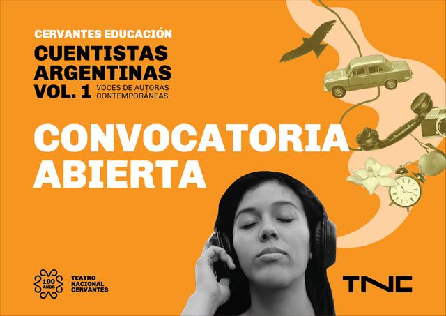 Cervantes Educación presenta Cuentistas Argentinas Volumen 1