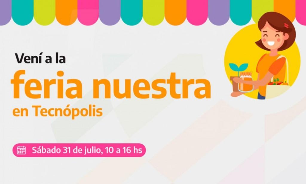 Feria Nuestra se inaugura en Tecnópolis con productos de la economía social y popular