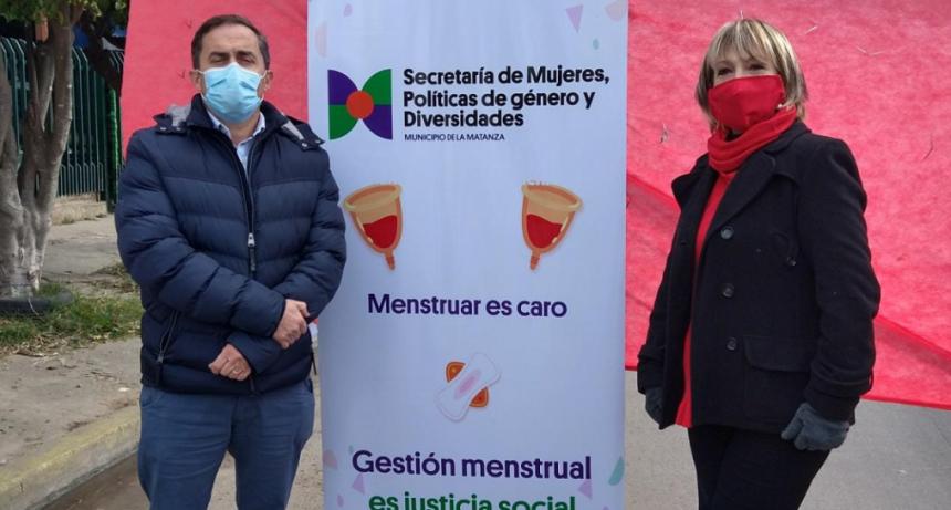 Se lanzó Justicia Menstrual en La Matanza
