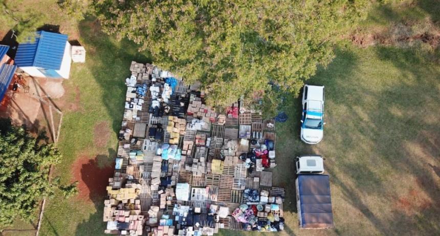 Prefectura descubrió y desmanteló una aduana paralela