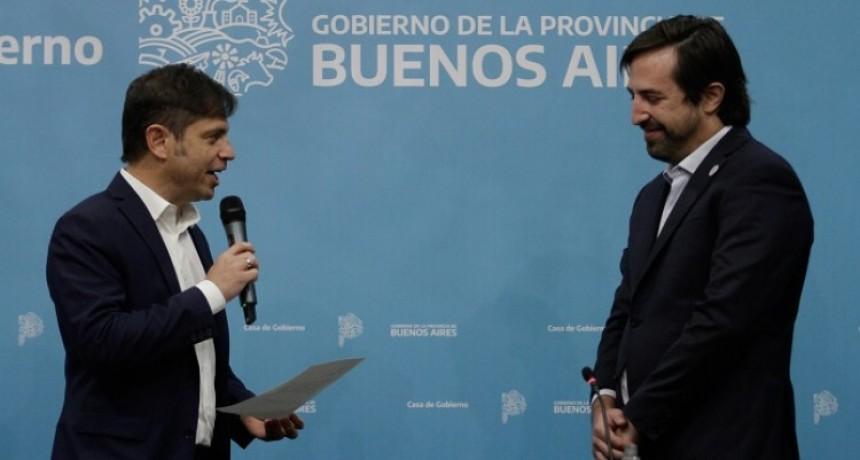 Nicolás Kreplak juró como nuevo ministro de Salud de la Provincia de Buenos Aires