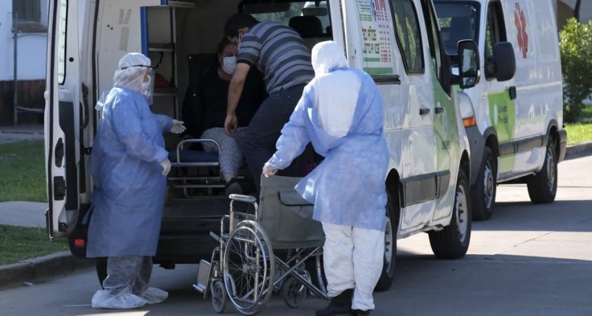 Murieron 291 personas y 14.115 fueron reportadas con coronavirus en el país