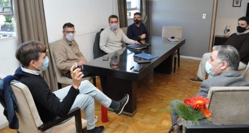 Lucas Ghi se reunió con representantes de EDENOR para articular inversiones