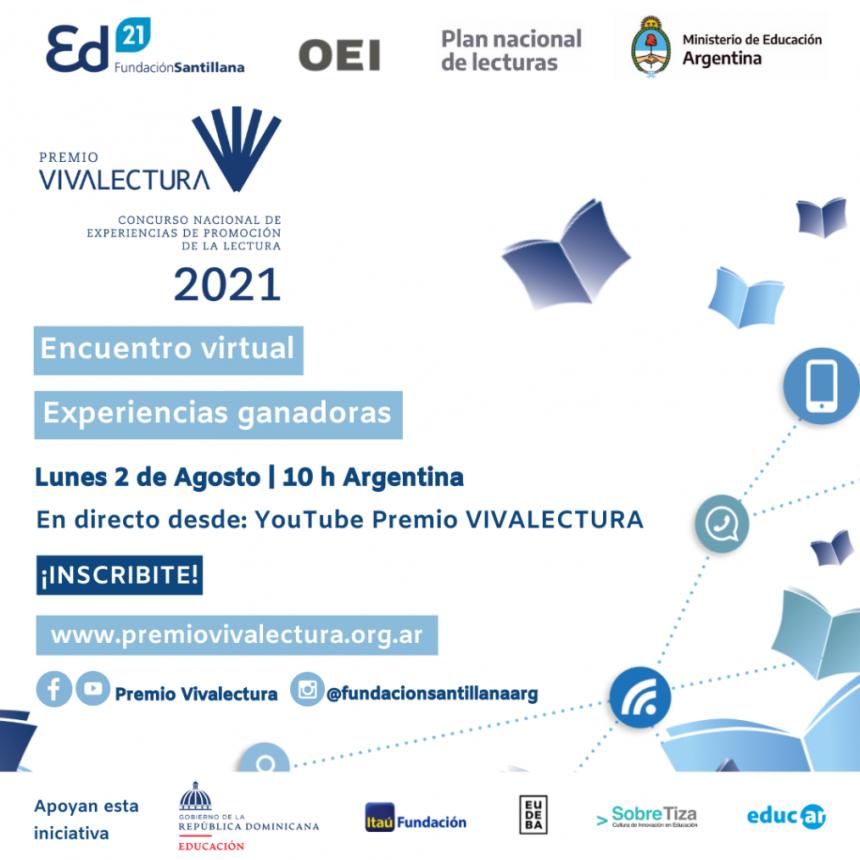 Premio VivaLectura 2021: en dos días se anuncian las experiencias ganadoras
