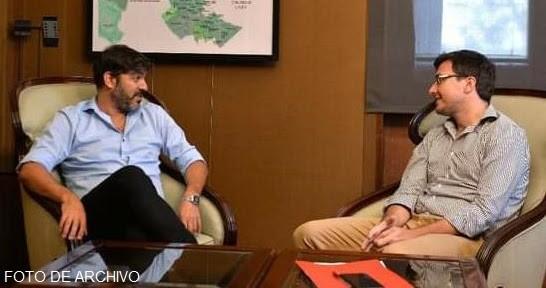 Lucas Ghi y el jefe de Gabinete bonaerense Carlos Bianco analizaron los planes de obras conjuntas en Morón