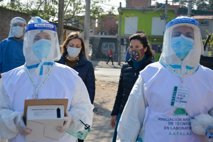 Estudios serológicos confirmaron la rápida acción sanitaria en los barrios populares bonaerenses