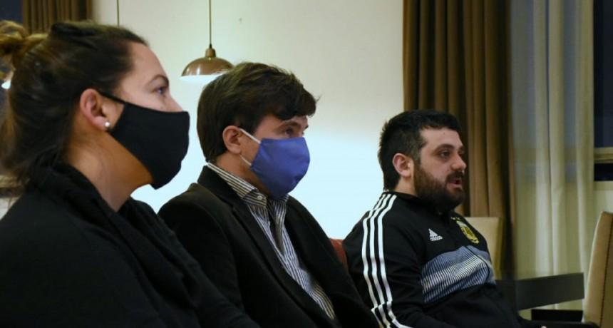 Ghi y Tignanelli conversaron sobre la Ley Provincial de Asociaciones Civiles con más de 100 representantes de instituciones de Morón
