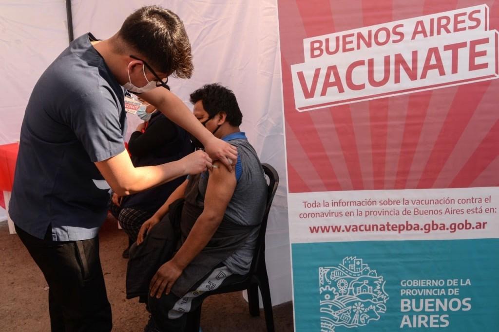 Morón superó el 76% de la población vacunada con la primera dosis contra el Covid-19