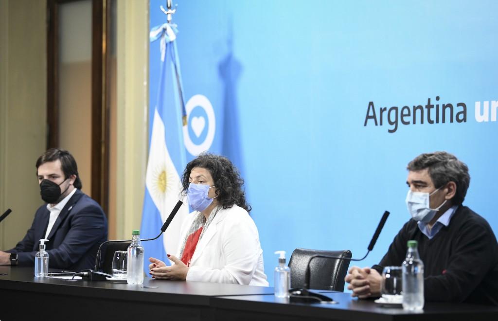 Argentina avanzará en la aplicación de segundas dosis contra la COVID-19 con esquemas combinados a partir de evidencia científica nacional e internacional