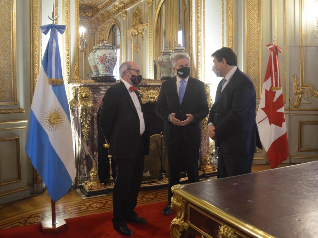 Argentina firmó un Convenio de Seguridad Social con Canadá