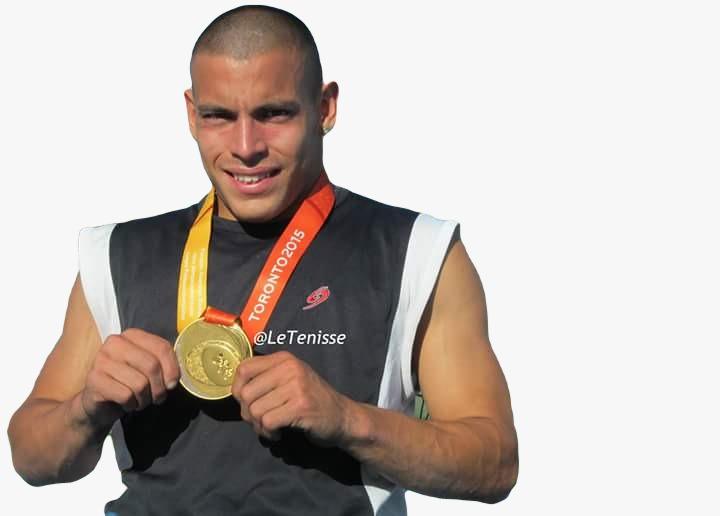 Ezequiel Casco, atleta paralímpico, representante argentino en Tokio2020