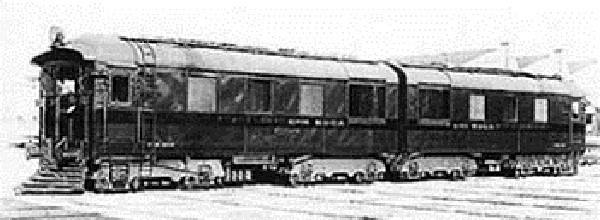 1933: La primeras Diesel-Eléctrica del FFCC SUD.