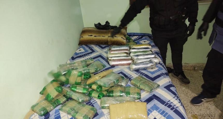 La Policía de Seguridad Aeroportuaria desbarató a una organización narcocriminal