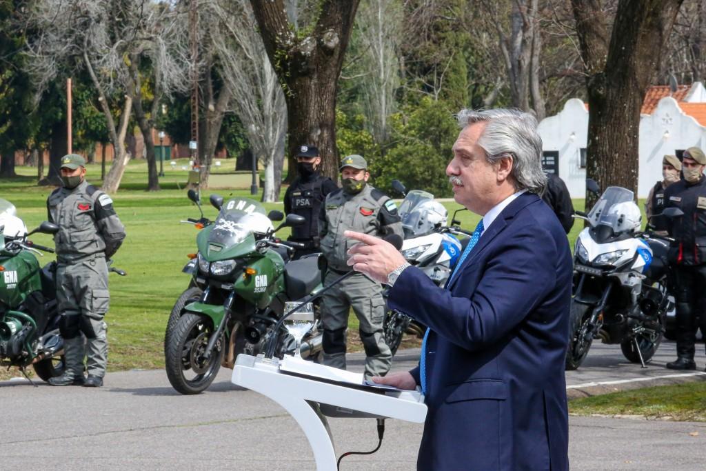 """El Presidente aseveró que será """"implacable"""" en el combate a la delincuencia"""