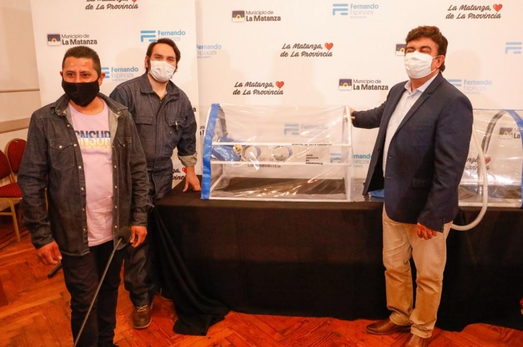 La Matanza solidaria: vecinos desarrollan y donan equipo de intubación segura y ya se utiliza en hospitales del distrito