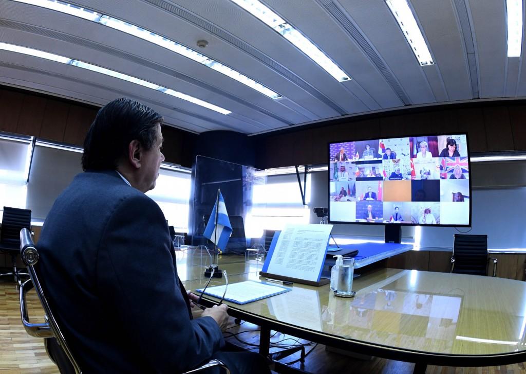 Claudio Moroni participó de una reunión de Ministros de Trabajo y Empleo del G-20
