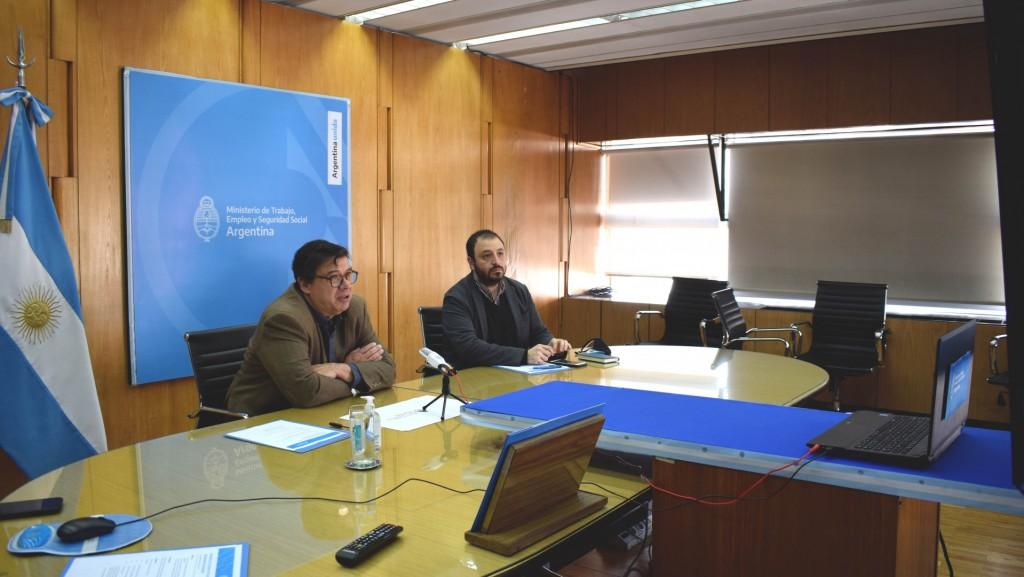 Claudio Moroni se reunió por videocoferencia con intendentes de la Provincia de Misiones