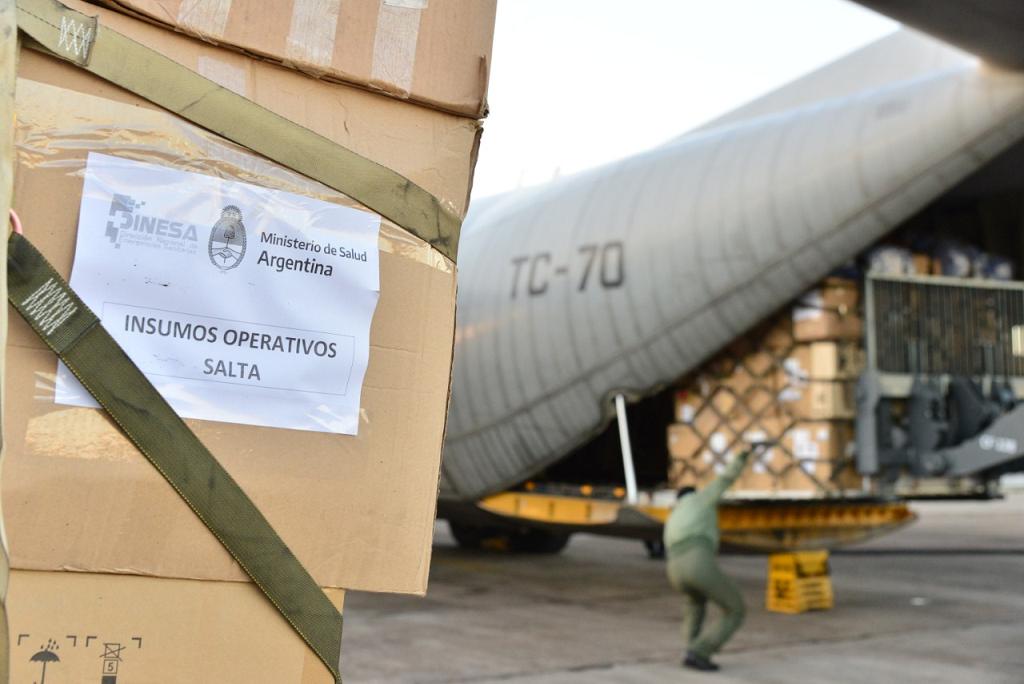 Nación continúa reforzando los sistemas de Salud de Jujuy y Salta por la pandemia de COVID-19