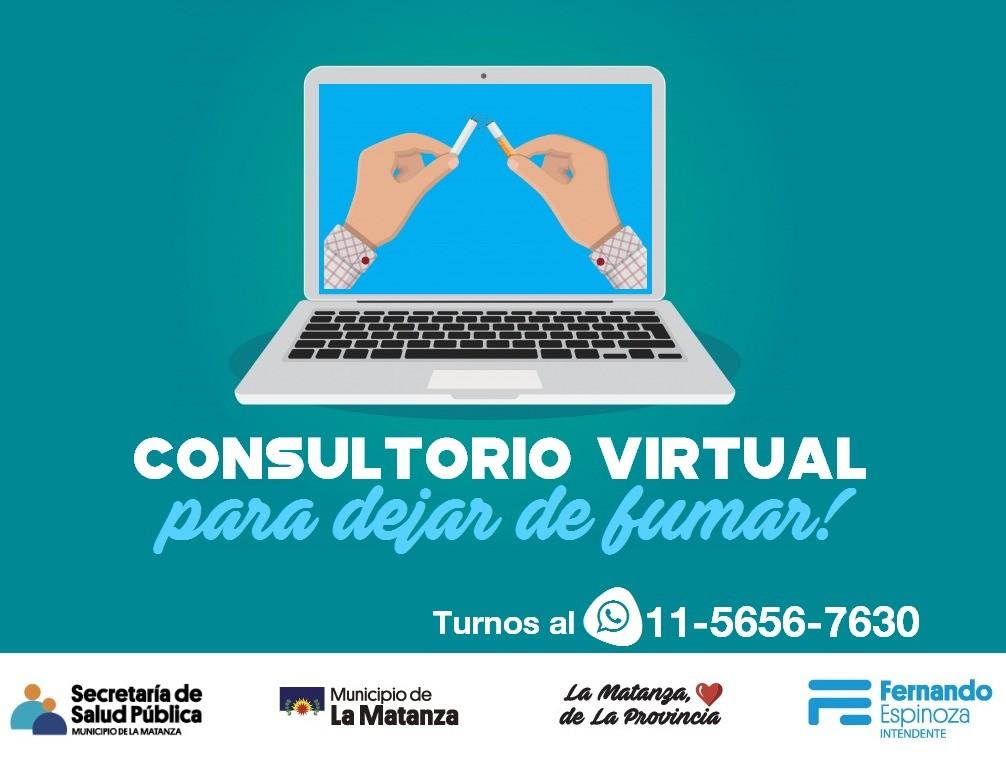 Consultorio virtual para dejar de fumar
