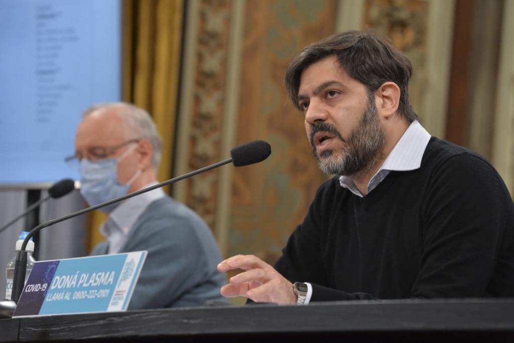 Conferencia de prensa sobre la situación epidemiológica y el esquema de fases en la provincia