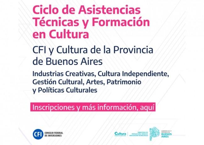 Comienza el ciclo de asistencia técnicas y formación en Cultura de la Provincia de Buenos Aires