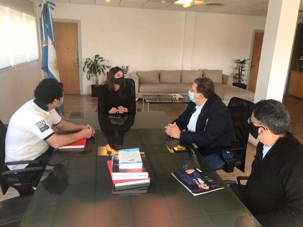 Arrondo se reunió con el Presidente de la CABB