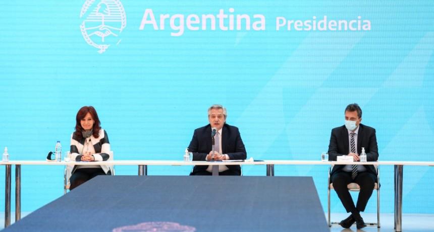 """Alberto Fernández: """"Ahora la Argentina puede pensar en su futuro y en cómo construirse"""""""