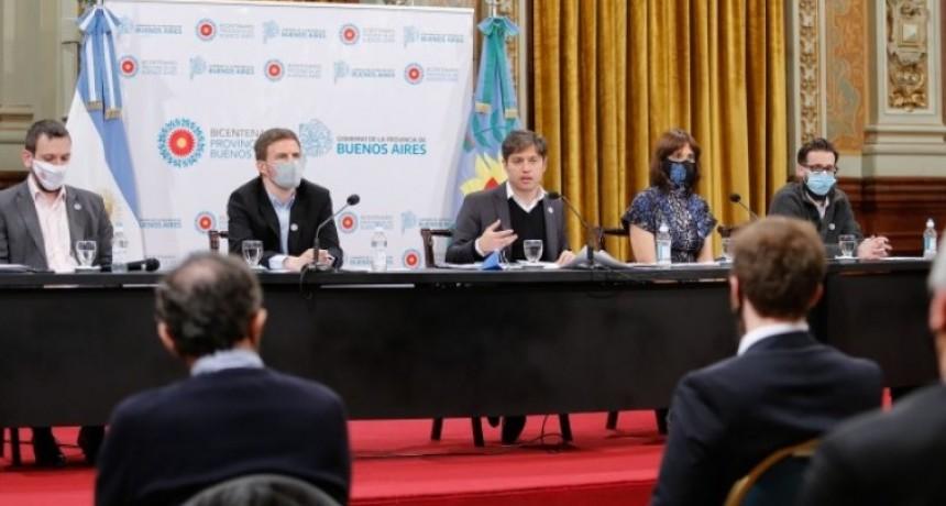 Kicillof presentó el plan de reactivación productiva para la pospandemia