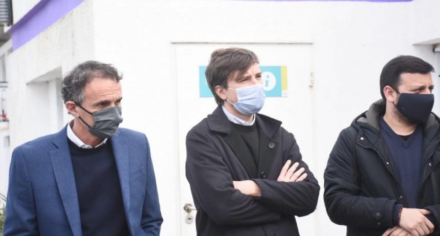 Lucas Ghi participó de la presentación del nuevo Programa de Fortalecimiento de Seguridad junto a Alberto Fernández y Axel Kicillof