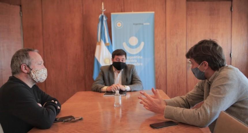 Lucas Ghi se reunió con el ministro Arroyo por los alcances del programa Potenciar Trabajo para Morón